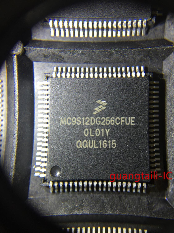 5 pces-10 pces mc9s12dg256cfue qfp80 hcs12 processador núcleo cpu novos bens genuínos
