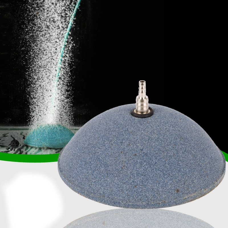 Bolha de ar Aerador para Tanque de Peixes de Aquário Bomba de Oxigênio Bomba de ar Lote Air Pedra Hidropônico Placa Mini 6 Pçs – 10cm