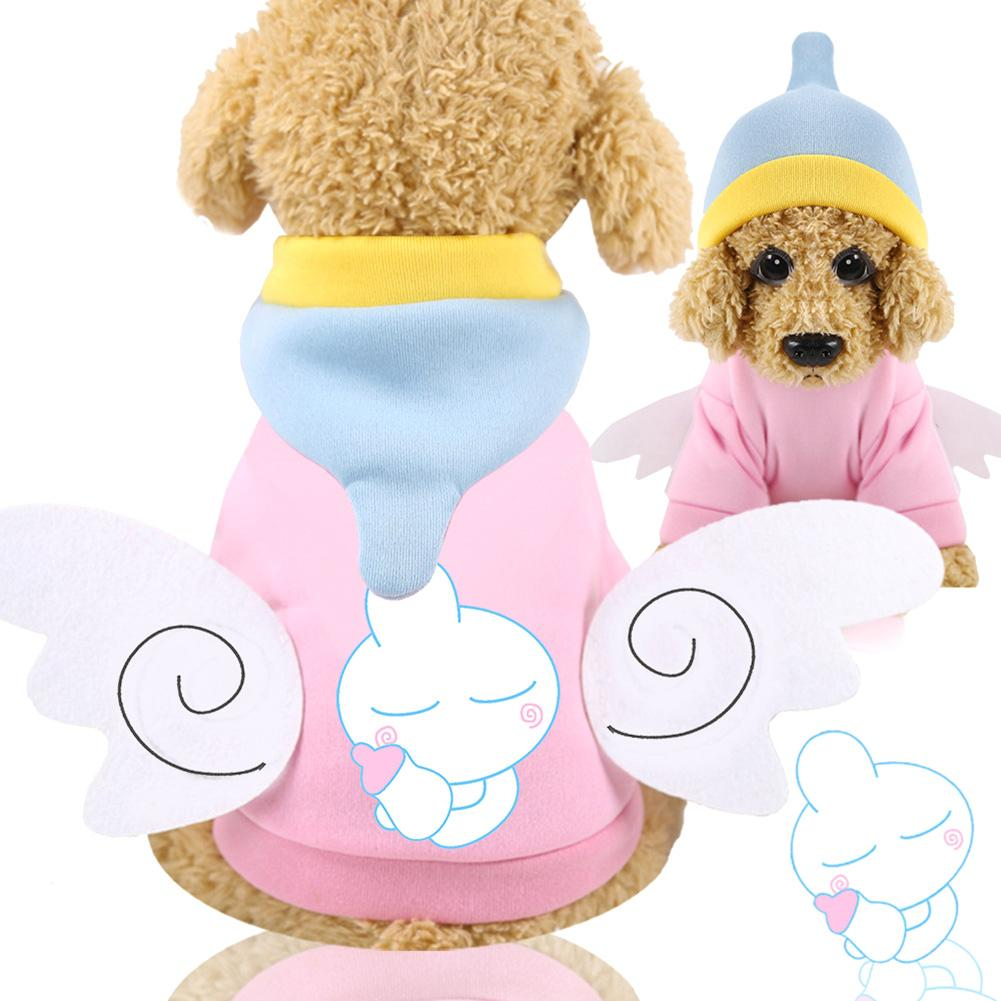 Pet Cartoon Tiger Duck Owl Soft Hooded Coat Jacket Dog Hoodie Winter Dog Clothes Coat Cotton Jacket Jumpsuit Dogs Cats Clothes