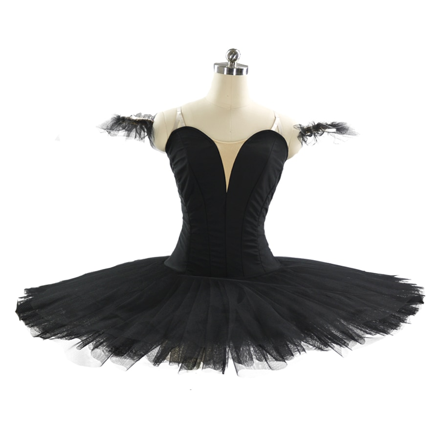 Professional Tutu Ballet Black Costume for Girls Without Decoration Platter Tutu Adult Professional Plain Pink Pancake Tutu 9111 недорого