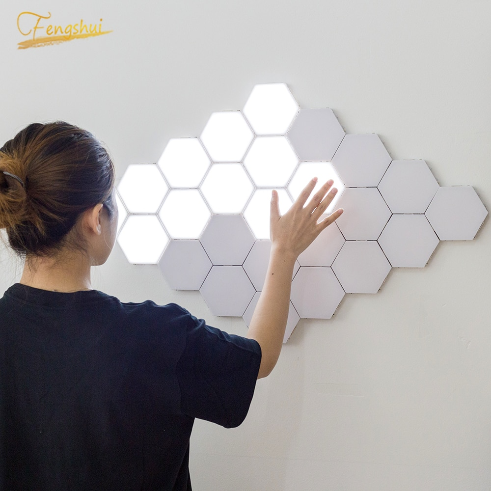 Nordic LED Night Light Quantum Lamp Modular Sensitive Touch Lighting Home Deco Bedside Magnetic Lights Lamp Kids Room Luminaries enlarge