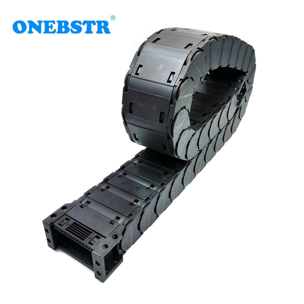 1 метр D25x57mm опорный провод цепи низкий уровень шума закрытый тип открытый с обеих сторон ЧПУ маршрутизатор станок Инструменты Бесплатная до...
