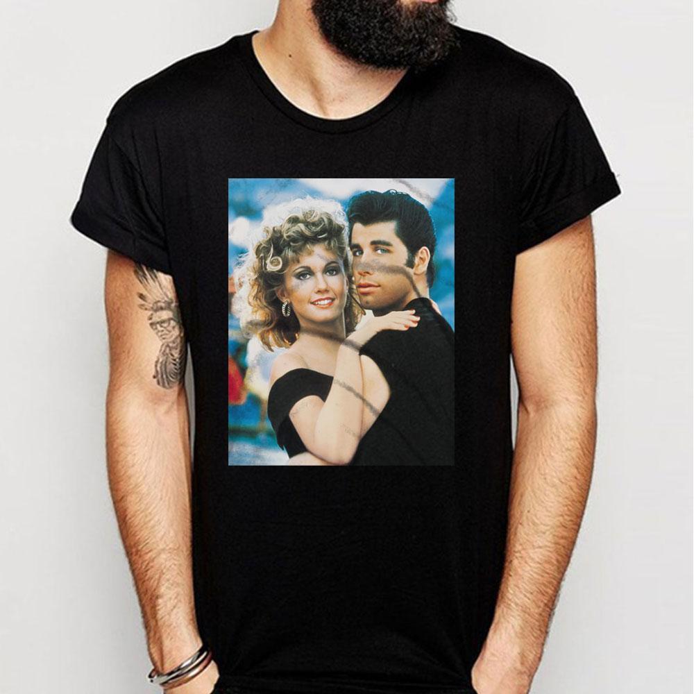 Camiseta de John Travolta, y de Mickey Newton para hombre y de John MenS, Newton, Monica y Travolta
