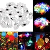 50pcs led rgb flash lamps balloon led lights new year christmas decoration garlands christmas lights wedding decor fairy lights