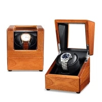 advanced motor solid wood meter holder display automatic mechanical watch case jewelry watch case