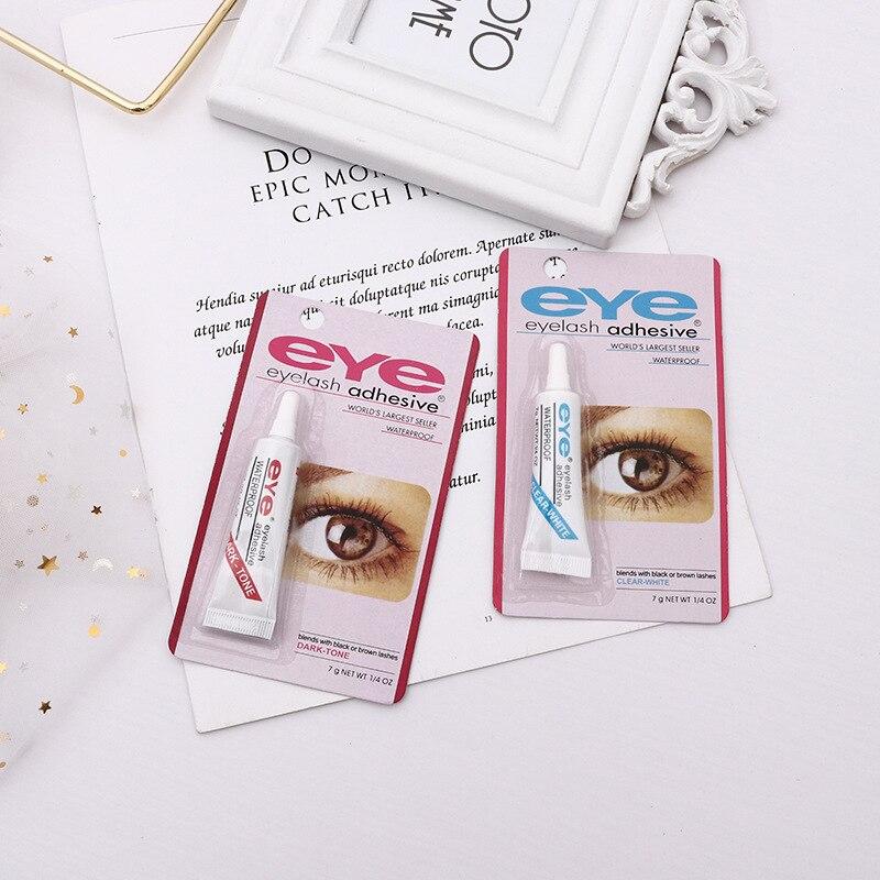 50 Pieces 7g Black White Double Eyelid Beauty Eye Glue Styling Lasting False Eyelash Glue