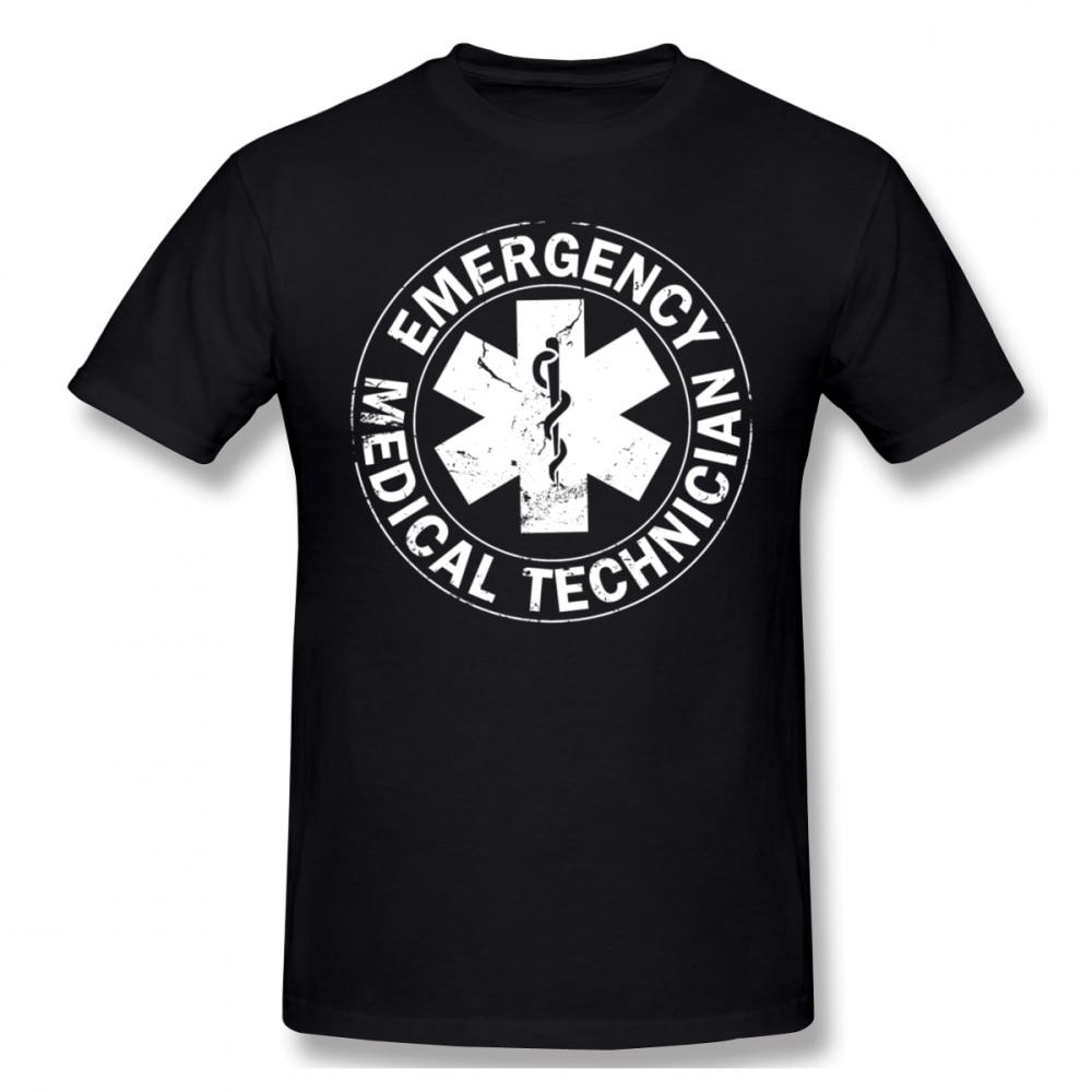 Camiseta con Logo de ambulancia para técnico de emergencias, para hombre, camiseta de talla grande personalizada para pareja