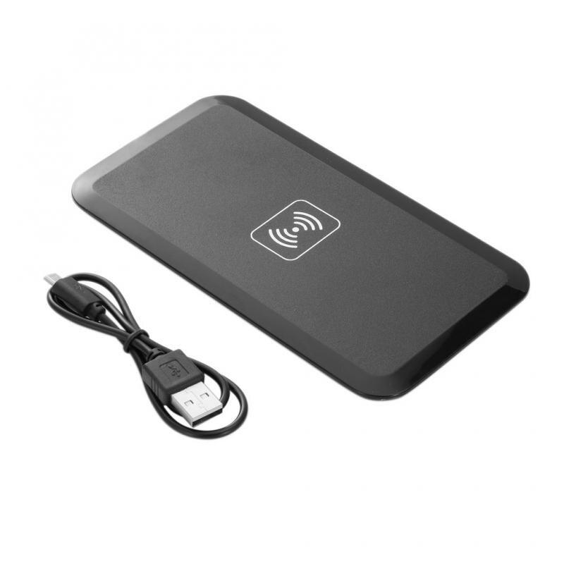 Cargador inalámbrico Universal Phnoe Qi, cargador inalámbrico rápido, cargador inalámbrico para Samsung iPhone Huawei Xiaomi