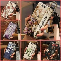 soft wrist strap phone case for huawei honor 7xmate se phone holder durable for girls soft case