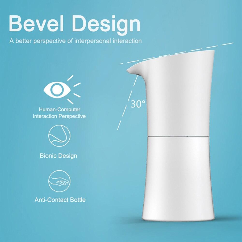 Lavadora de manos de inducción automática de 500ml, dispensador automático de jabón de lavado Bootle 0,25 s, inducción infrarroja, limpieza de baño, inducción inteligente