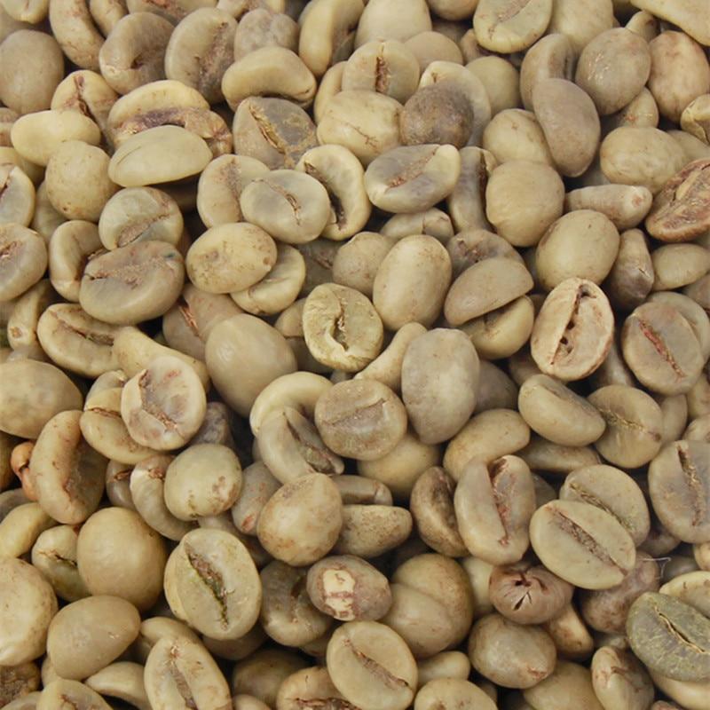 Granos de café verde crudo, granos de café de alta calidad, 500g,...