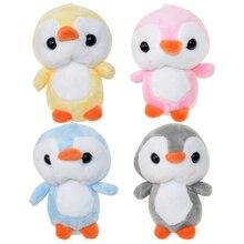 Sleutelcintre Pluche animaux pingouin jouets petit pendentif poupées dessin animé doux en peluche Mini pingouins en peluche jouet pour enfants filles cadeaux
