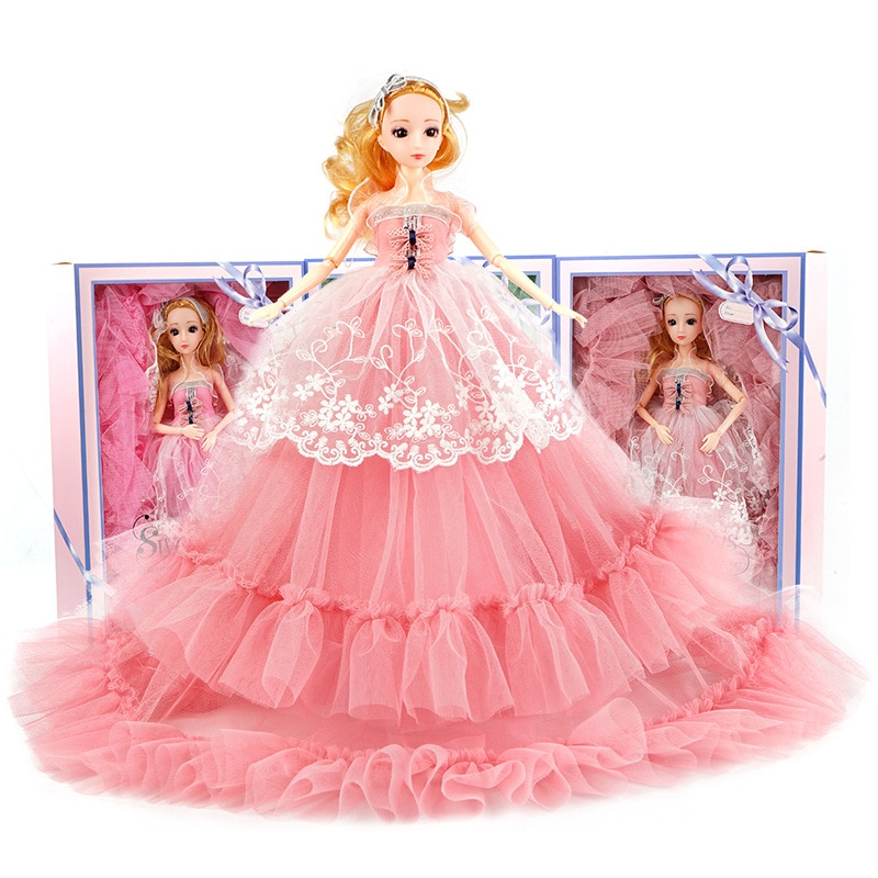 Surprise Barbie Wedding Dress Doll Girl Toy Dolls for Girls