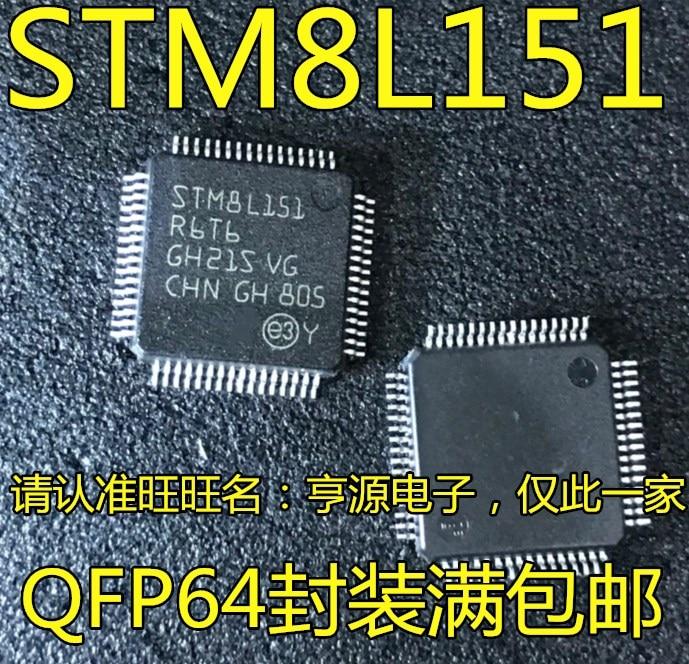 100% neue & original STM8L151 STM8L151R6T6 LQFP-64 8MCU