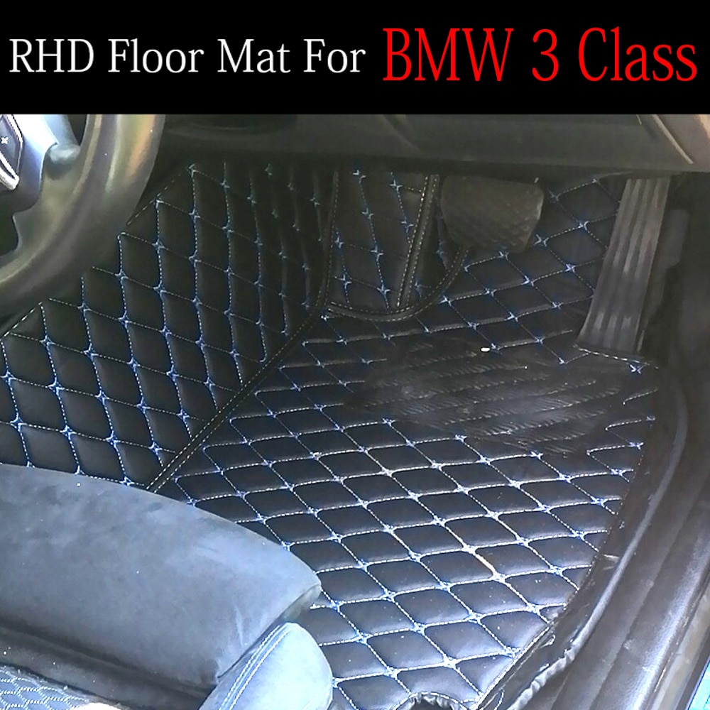 Volante a la derecha/RHD para Peugeot 206 207 2008 307 308sw 3008 408 4008 508 rcz revestimiento de alfombra para el suelo