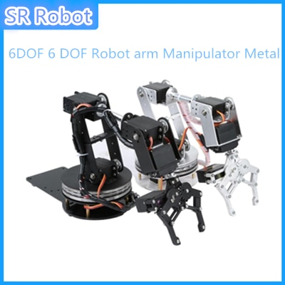 DIY 6DOF 6 DOF Robot arm Manipulator Metal Alloy Mechanical Arm Clamp Claw Kit MG996R DS3115 for Ard