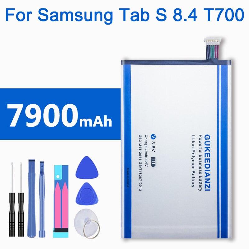 7900 мАч EB-BT705FBE аккумулятор планшетных ПК для Samsung GALAXY Tab S 8,4 SM T700 T705 литий-ионная аккумуляторная батарея, Новое поступление 2019