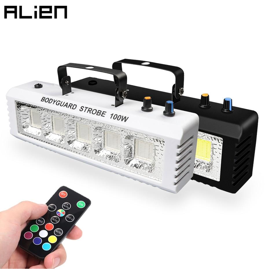 أضواء جلينيان RGB بيضاء للديسكو والديسكو 40 وات 60 وات 80 وات 100 وات صوت فلاش للتحكم عن بعد لحفلات الزفاف تأثير إضاءة المسرح