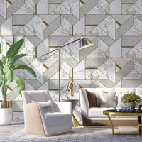 nordic 3d marble wallpapers home decor grey geometric wall paper rolls for background decorative for bedroom living room