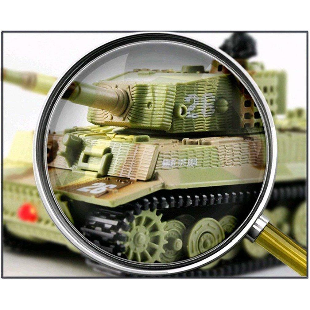 German Tiger Mini Remote Control Tank Car Charging Remote Control Car Toy Children's Intelligence Toys enlarge