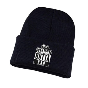 Anime Sword Art Online Knitted hat Cosplay hat Unisex Print Adult Casual Cotton hat teenagers winter Knitted Cap