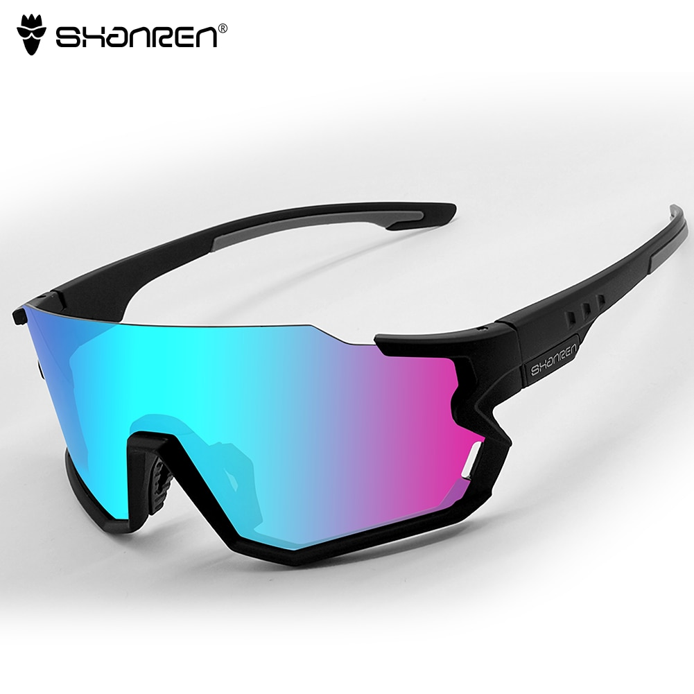 Shanren polarizadas gafas de ciclismo fotocromáticos gafas recubrimiento ligero para conducir, para pescar gafas