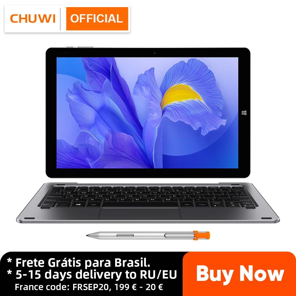 Promo CHUWI Hi10 X 10.1 Inch FHD Screen Intel Celeron Quad Core 6GB RAM 128GB ROM Windows Tablets Dual Band 2.4G/5G Wifi