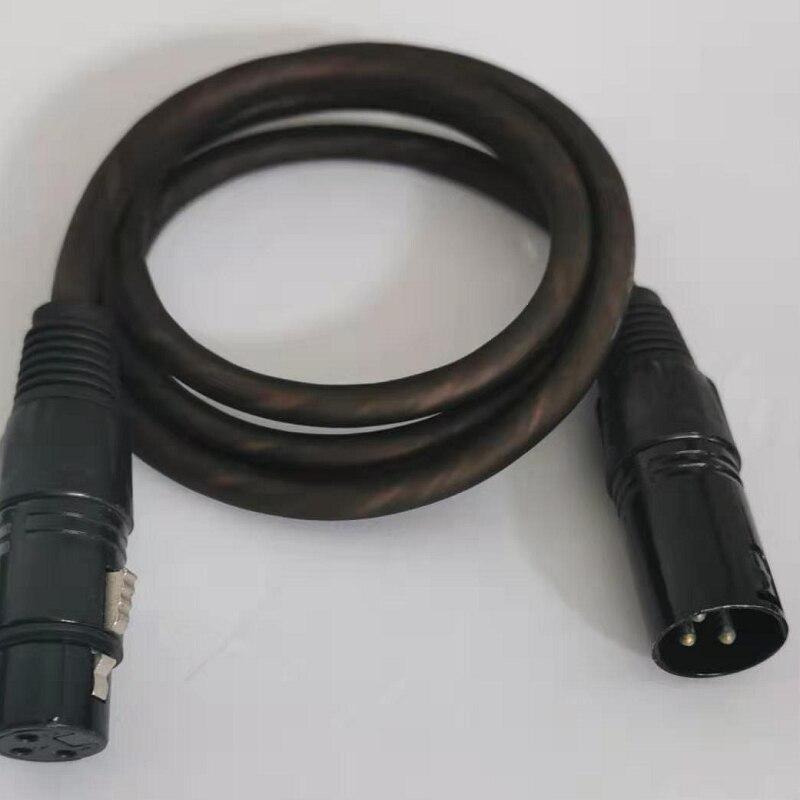 Fanned doble línea Canon balanceada línea Canon macho a hembra línea de audio micrófono línea