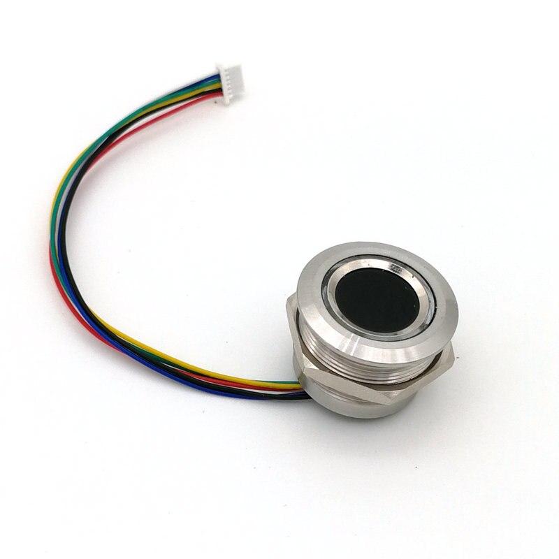 R503 nuevo anillo de dos colores Indicador de luz LED Control redondo huella digital módulo acceso Control Arduino