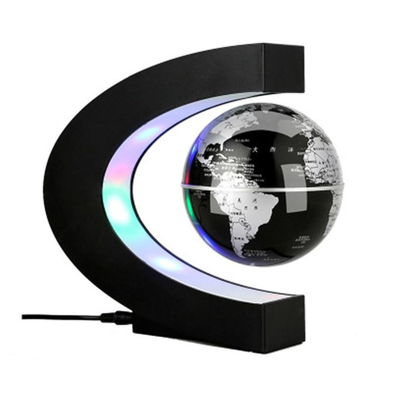 1 pcs Magnetic Levitation Globe Student school teaching equipment Night light globe Creative Gifts 110/220V AC US/EU/UK/AU
