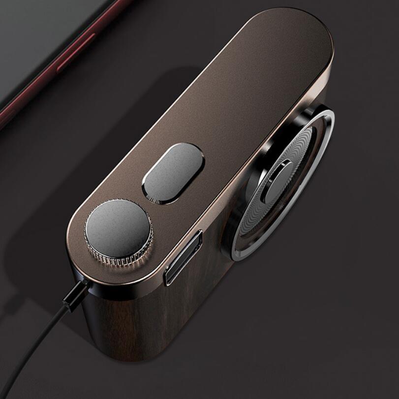 Retro Camera FM Raido Bluetooth HIFI Speaker TF Card 5000 mAh Power Bank Portable Outdoor High-quality Speakers enlarge