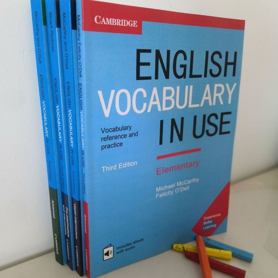 4 Cambridge English Vocabulary Books Advanced English Grammar Reading Books