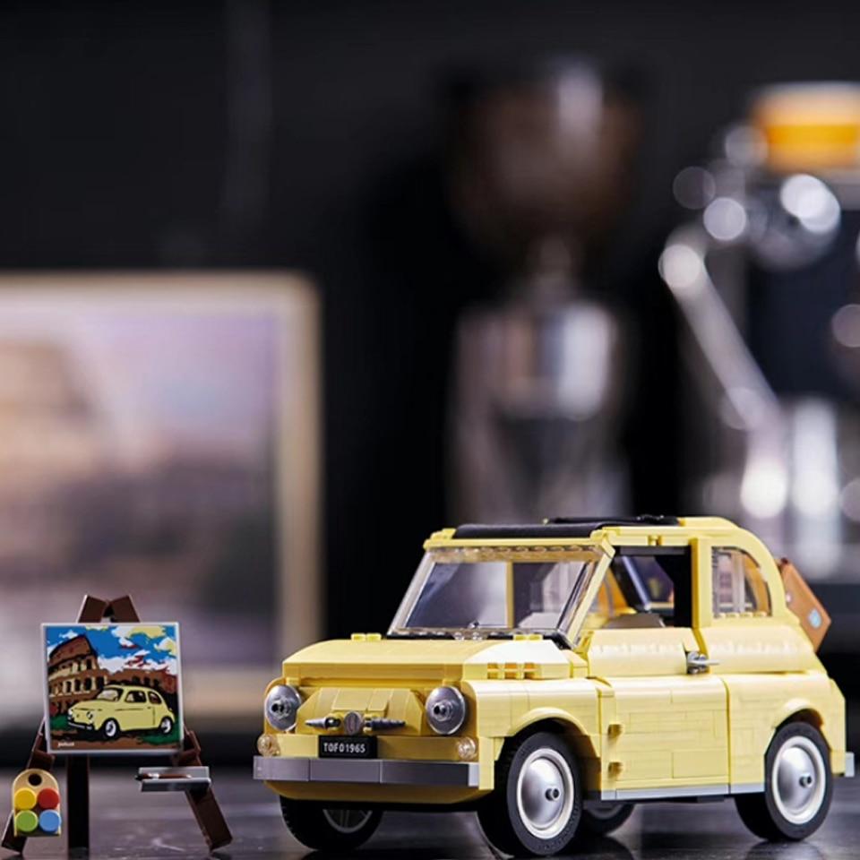 2020 new Lepining City Car Creator Expert Series FIATed Nuova 500 Building Blocks 10271 Model Kids Gift Toys For Children