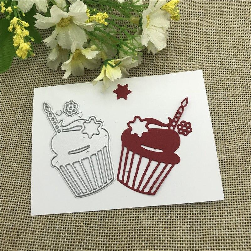 Molde de decoração de bolo, estêncil de metal para faça você mesmo, para scrapbooking, gravação decorativa, artesanato, modelo de corte