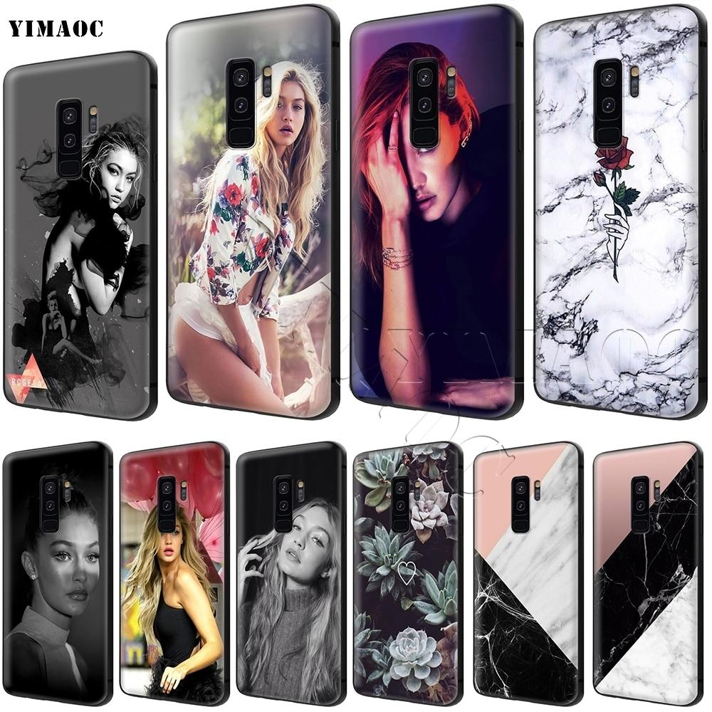 YIMAOC Gigi Hadid чехол для samsung Galaxy A10s A20s A30s A40s A50s Примечание 10 плюс A2 J4 J6 J7 J8 Core Prime