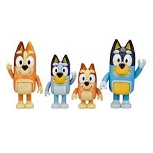 Kawaii Animal The Bluey Bingo Action Toys Figures Cute Cartoon Dog Dolls Kids Baby Family Children B