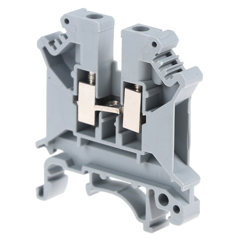 10 Uds Terminal UK-5N conector Universal clase tornillo contacto conductores UK5N alta calidad