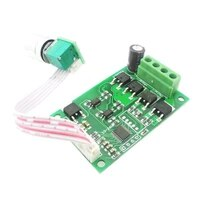 1 pcs fully automatic forward and reverse dc motor speed controller 12v24v dc motor controller speed control knob switch