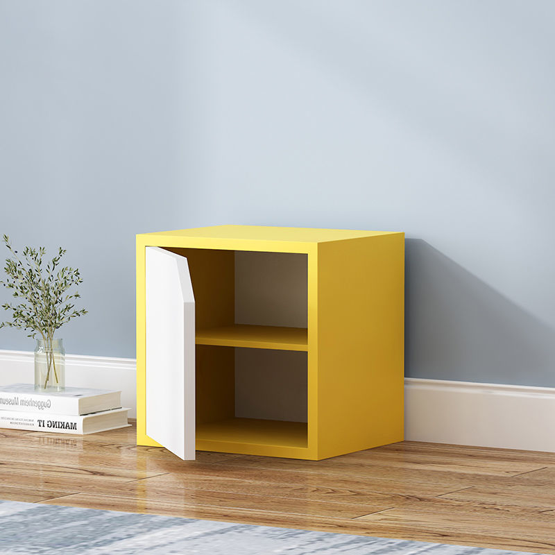 Shelves Modern Simplicity Bookshelf Student Storage Cabinet Household Storage Cabinet Small Cabinet Wooden Bookcase Cabinet