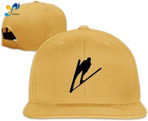 Yellowpods Ski Jumping Men's Relaxed Medium Profile Adjustable Baseball Cap
