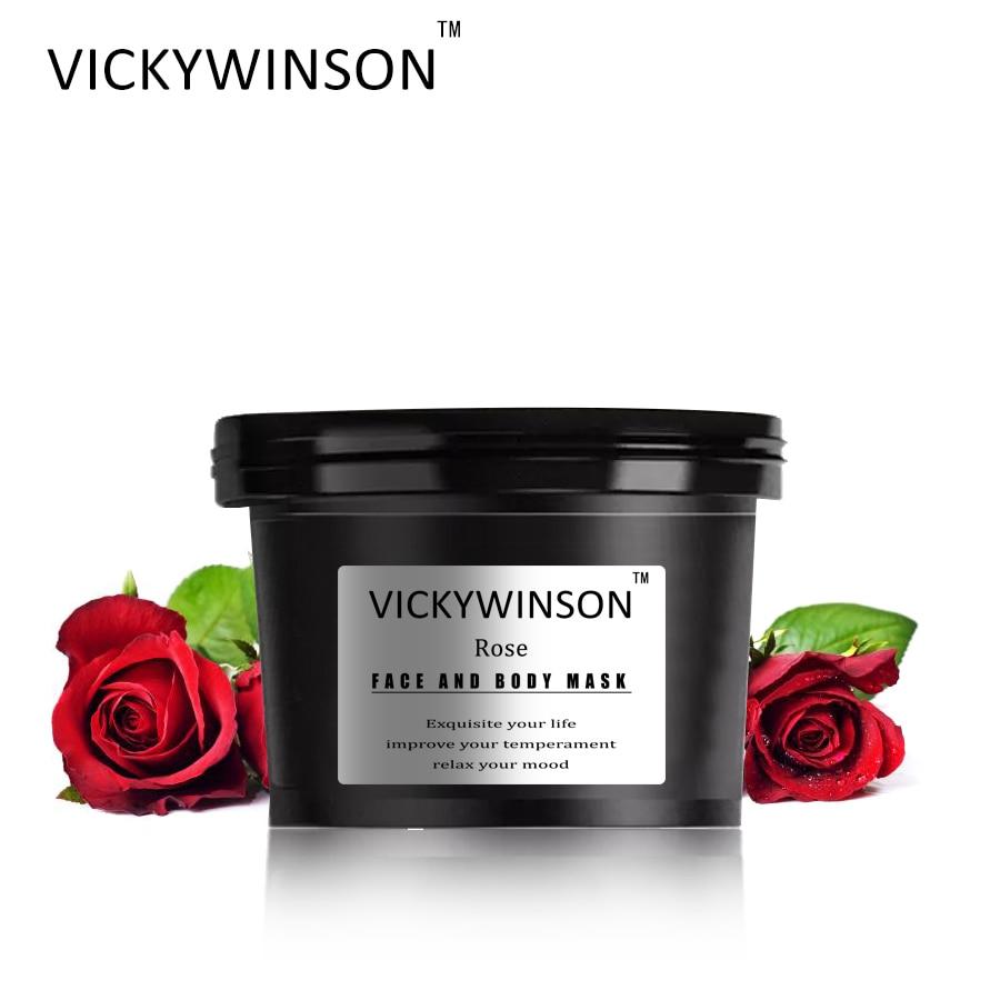 VICKYWINSON Rose scrub cream 50g Exfoliating Gel Body Dead Skin Removal Cream Moisturizing Smoothing Arms Legs Body Scrub Gel недорого