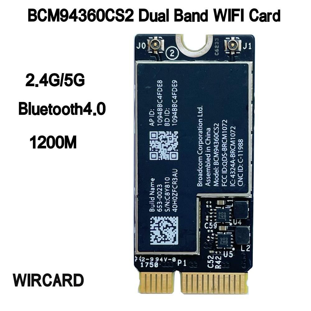 WIRCARD BCM94360CS2 لاسلكي-التيار المتناوب واي فاي BT 4.0 802.11ac بطاقة ل 11