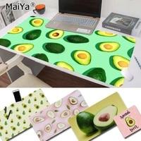 maiya new cute cartoon fruit avocado keyboards mat rubber gaming mousepad desk mat free shipping large mouse pad keyboards mat