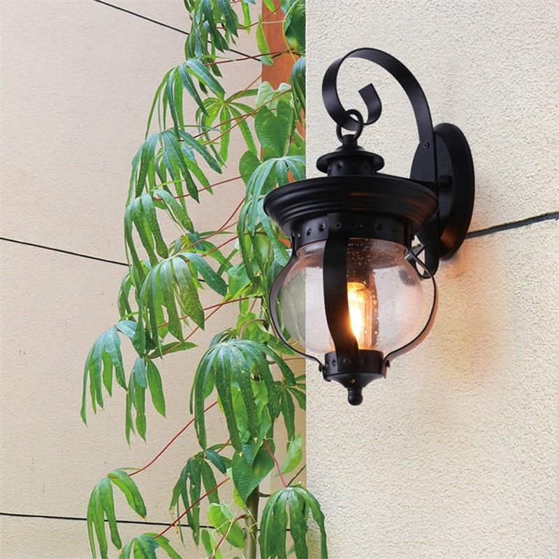 DLMH Outdoor Retro Wall Light Classical Sconces Lamp Waterproof IP65 LED For Home Porch Villa enlarge