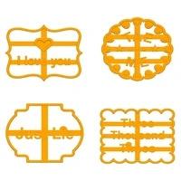 alphabet cookie stamp fondant mold cutter cake decorating tool