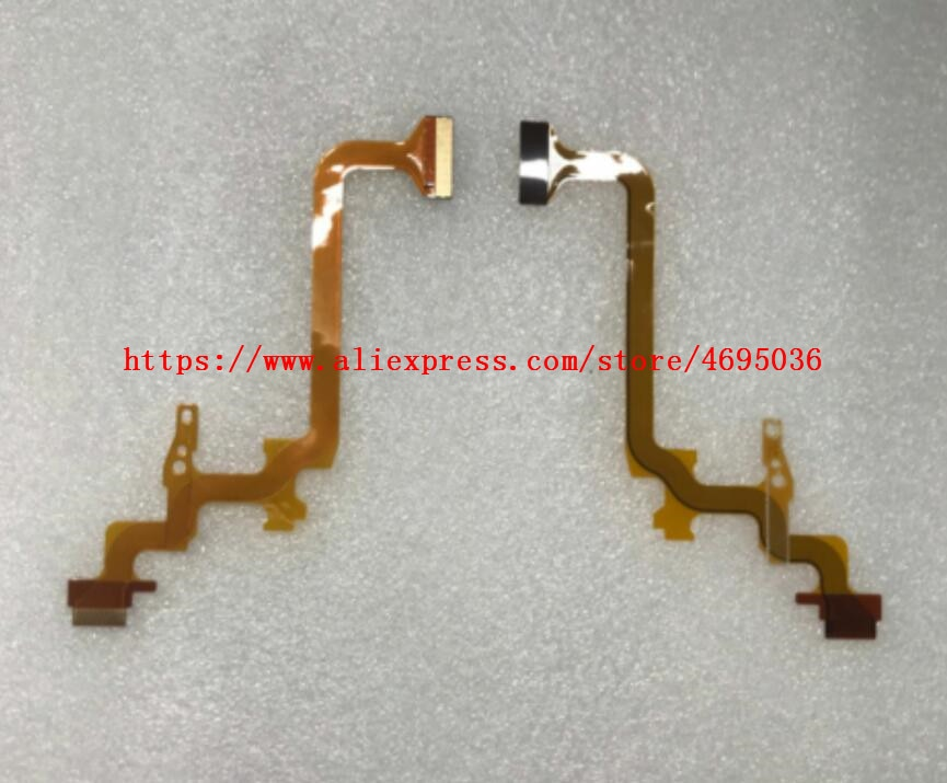 2 peças lcd dobradiça girar eixo cabo flexível para jvc GZ-MG750 mg760 hd620 hd500 hd520 mg90 câmera de vídeo
