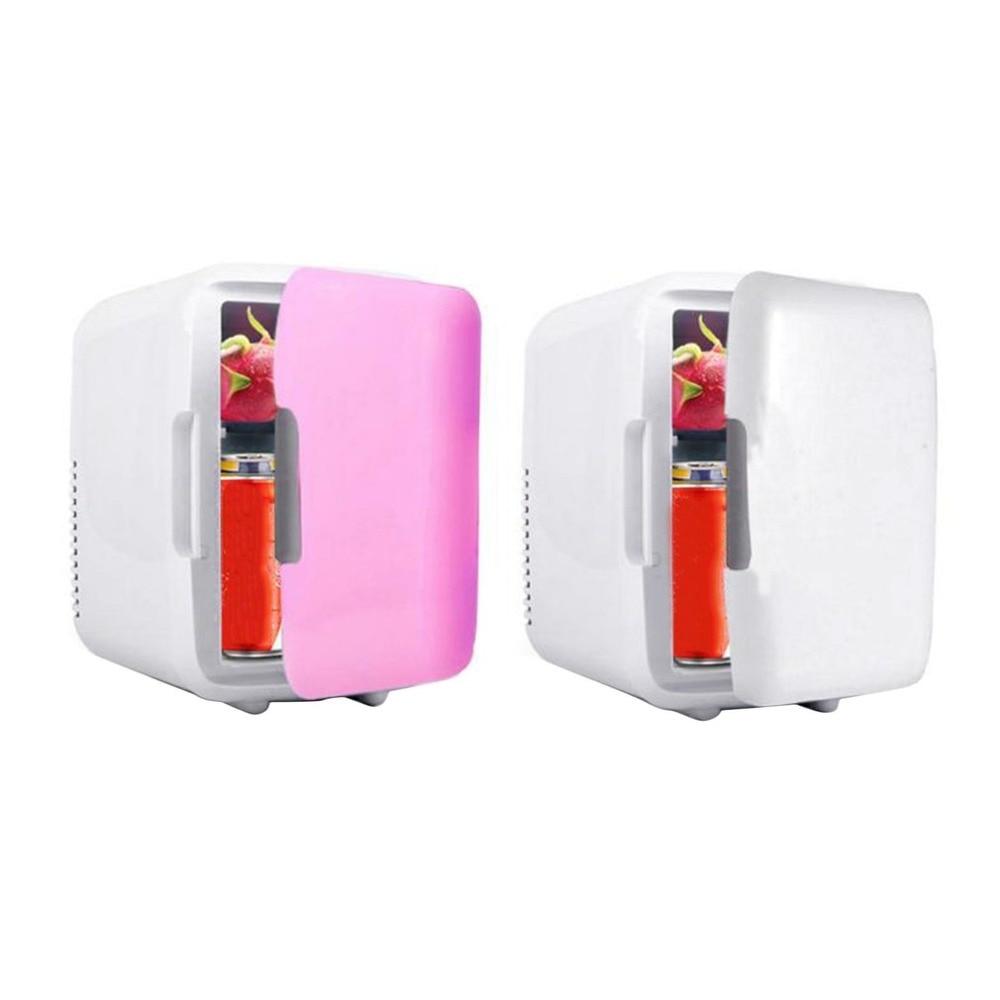 Портативный автомобильный морозильник 4L мини холодильник автомобильный домашний двойной автомобильный холодильник 12V кулер обогреватель ...