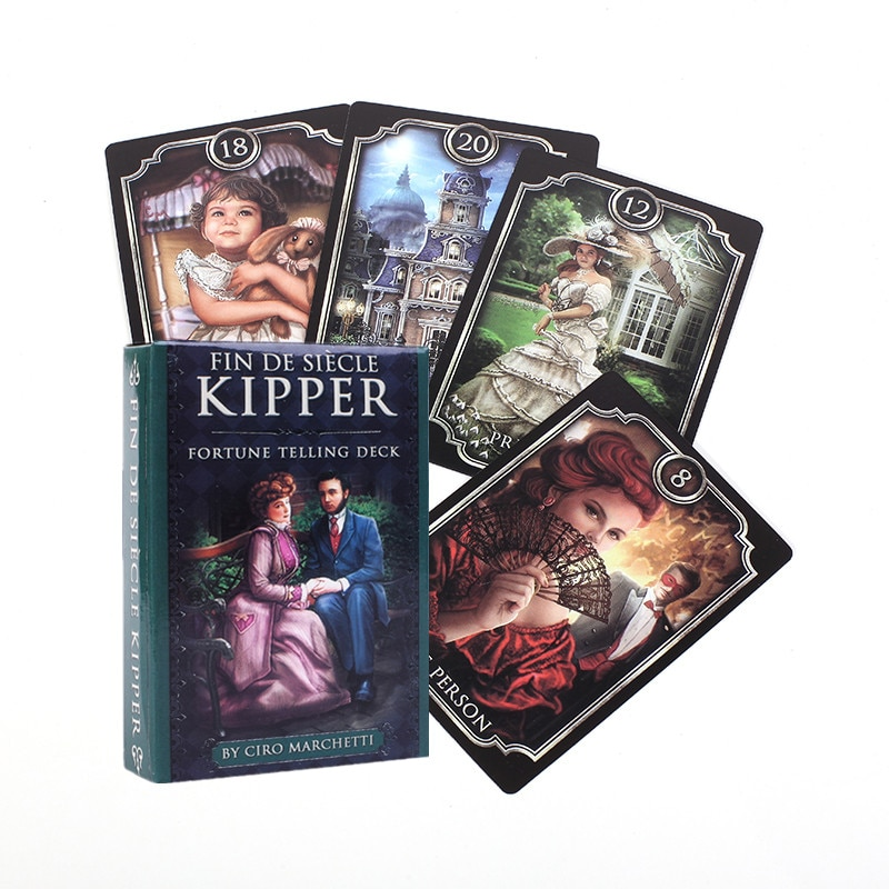 Fin Sieve Kipper Tarot Cards Oracle English Version Board Games Family Party Playing Card Deck Table Game Divination Fate fin sieve kipper tarot cards oracle english version board games family party playing card deck table game divination fate