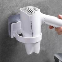 2020 Porte-Seche-Cheveux Mural Rangement Toilette Seche-Cheveux Rack Accueil Salle De Bains Rangement Mural Support Suspendu Rack Organisateur