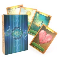 2021 affectional divination fate game deck english version palying cards the most popular tarot mysterious